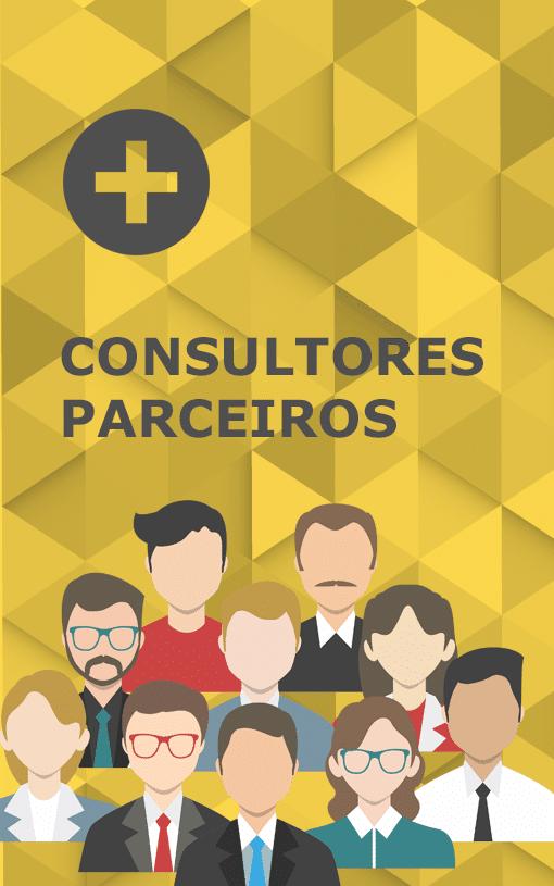 imagem de desenhos representando os consultores parceiros