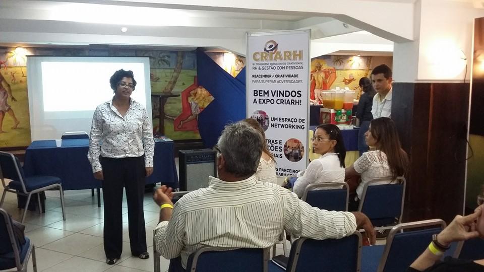 Palestra no Congresso Brasileiro de Criatividade RH e Gestão – CRIARH